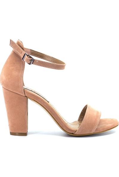 Eşle Ayakkabı 9Y-09-13081 Kadın Ayakkabı Pudra