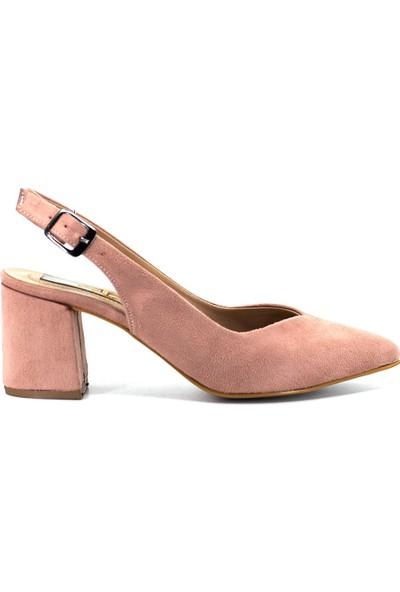 Eşle Ayakkabı 9Y-09-700-1 Kadın Ayakkabı Somon