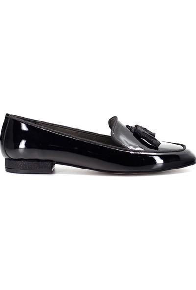 Eşle Ayakkabı 9Y-130-8001 Kadın Babet Siyah