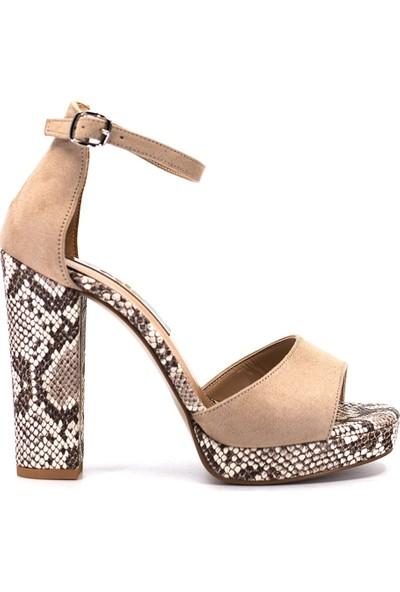Eşle Ayakkabı 9Y-221-307 Kadın Ayakkabı Ten
