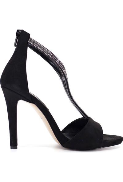 Eşle Ayakkabı 9Y-277-157 Kadın Ayakkabı Siyah