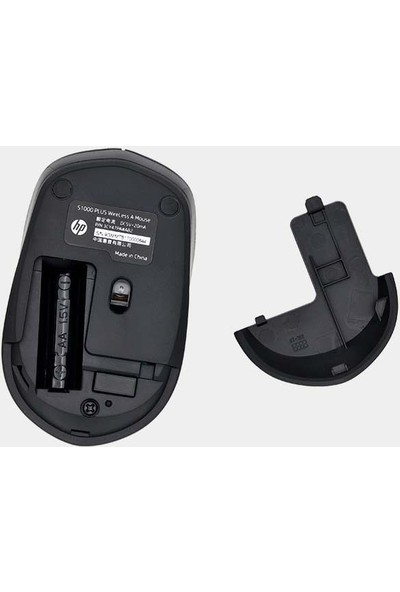 Hp S1000 Wireless Mouse Siyah