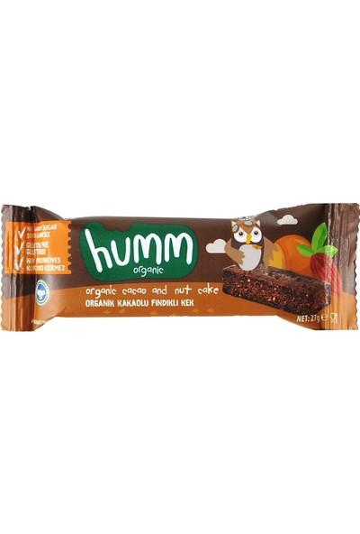 Humm Organic Glutensiz Kakaolu Fındıklı Kek 27 gr