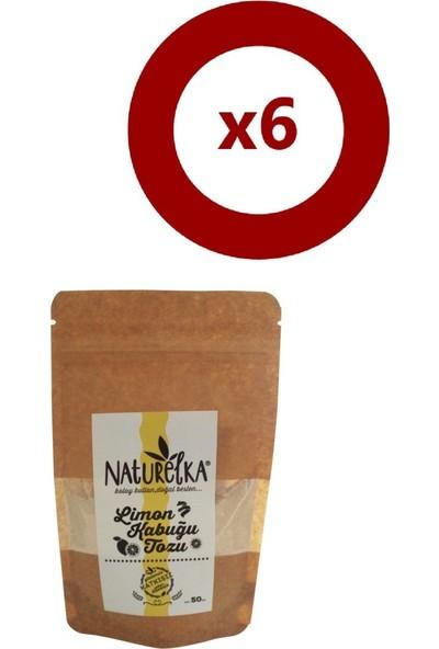 Naturelka Limon Kabuğu Tozu 50 gr 6'Lı Set