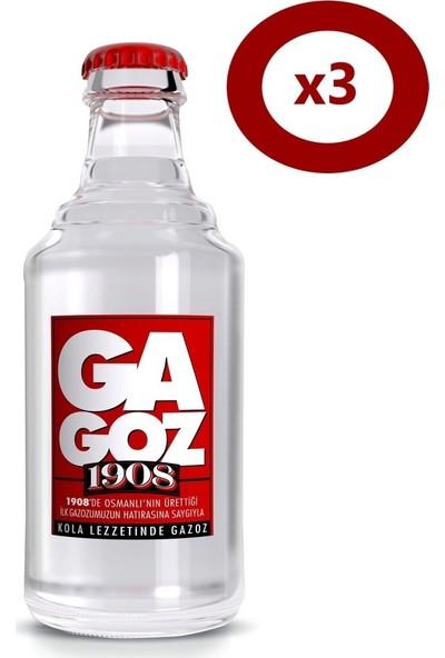 Gagoz 1908 250 ml Gazoz 3'Lü Set