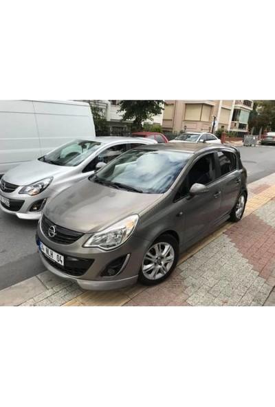 Güneşli Garaj Opel Corsa D Makyajlı Kasa Steinmetz Fiber Boyalı Ön Ek