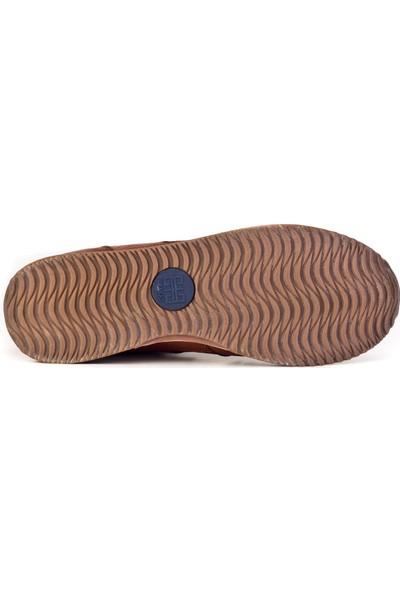 Cabani Sneaker Ayakkabı Taba Floter Deri