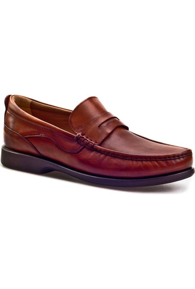 Cabani Günlük Ayakkabı Taba Sanetta Deri