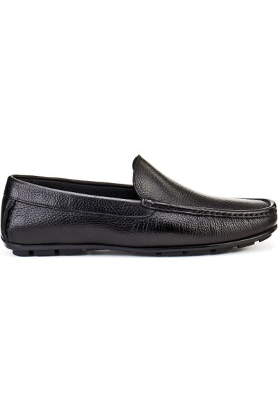 Cabani Ayakkabı Siyah Naturel Floter Deri