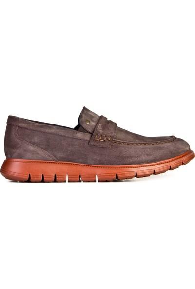 Cabani Günlük Ayakkabı Füme Süet