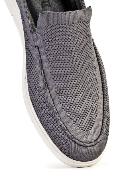 Cabani Günlük Ayakkabı Gri Tekstil