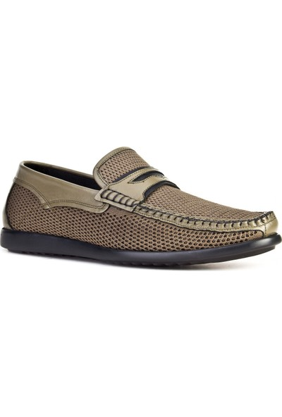 Cabani Günlük Ayakkabı Haki Tekstil