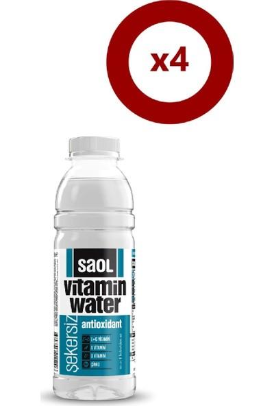 Saol Water Antioxidant 500 ml 4'Lü Set