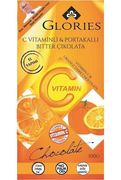 Glories C Vitaminli Portakal Çikolata 100 gr
