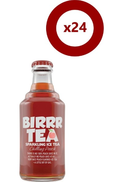 Bırr Tea Şeftali 250 ml 24'Lü Set