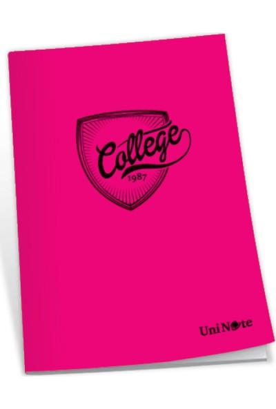 Uninote College Dikişli Pp Kapak A4 60 Yp. Düz
