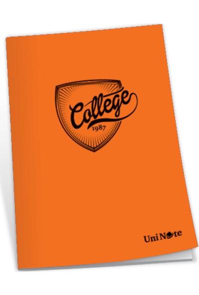 Uninote College Dikişli Pp Kapak A4 100 Yp. Çizgili