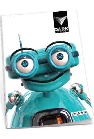 Uninote Dark Dikişli Pp Kapak A4 60 Yp. Çizgili