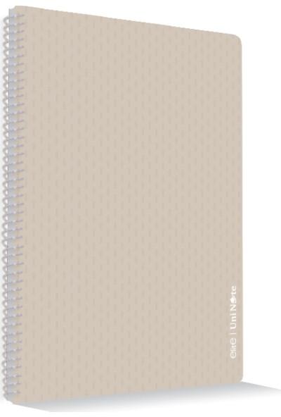Uninote Elite Spiralli Pp Kapak A4 96 Yp. Kareli