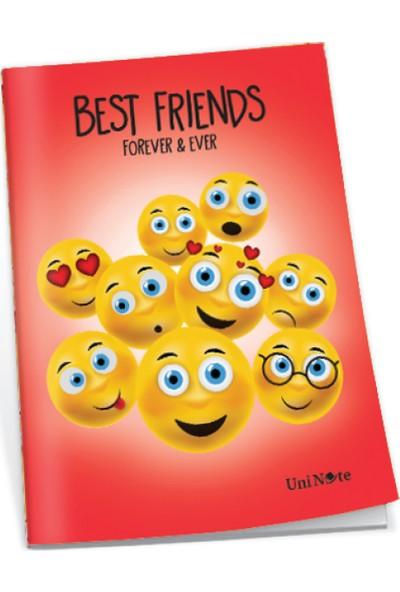 Uninote Best Friend Sp. Pp Kapak A4 72 Yp. Çizgili