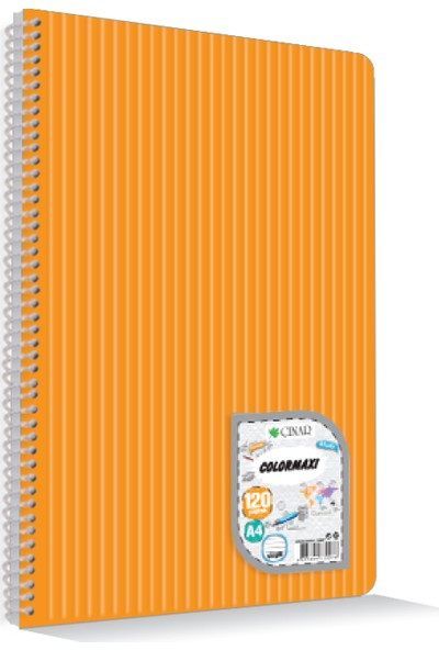 Uninote Colormaxı A4 Sp.Pp Kapak 144 Yp. Kareli
