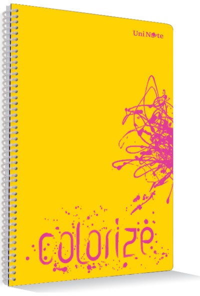 Uninote Colorize Sp. Pp Kapak A4 96 Yp. Kareli