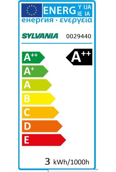 Sylvania E14 LED Mum Lamba 3W Sarı Işık