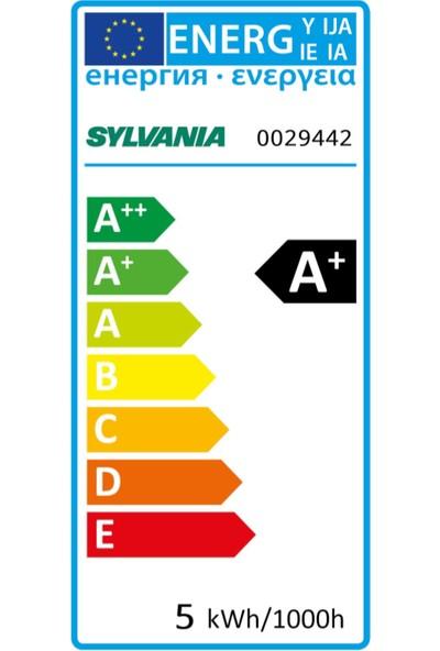 Sylvania E14 LED Mum Lamba 5W Sarı Işık