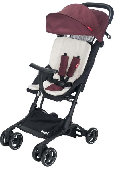 Kanz MiniS Bebek Arabası Kırmızı