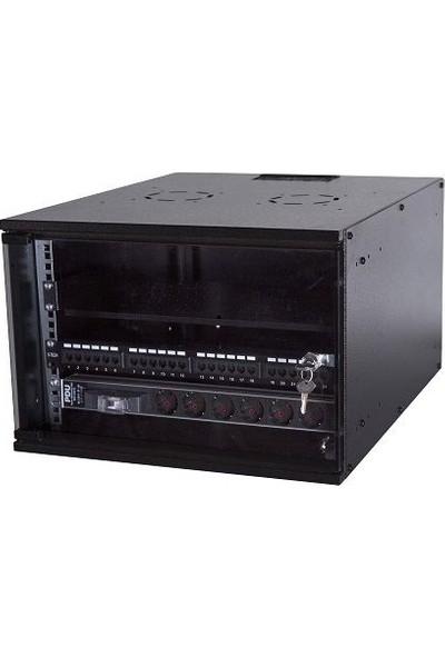"Ulusal ULS7U5060 7u Duvar Tipi Soho Rack Kabinet – 19"" 500 x 600 mm"