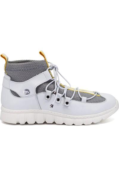 Mammamia D19Ya-4725 Kadın Günlük Ayakkabı Beyaz