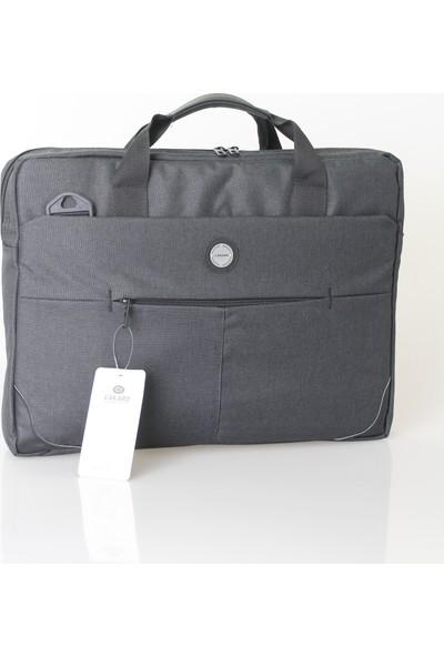 Cakard 17 Inc Laptop Çantası Omuz Askılı 0035-2 Siyah