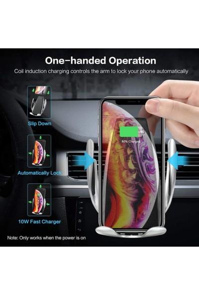Smart Sensor Araç Içi Telefon Tutucu Wireless Şarj Sensörlü Otomatik
