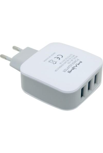 Maimi 3 Portlu USB Şarj Cihazı