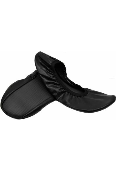 Pisi Pisi Siyah Beyaz Dans Bale Gösteri Ayakkabı