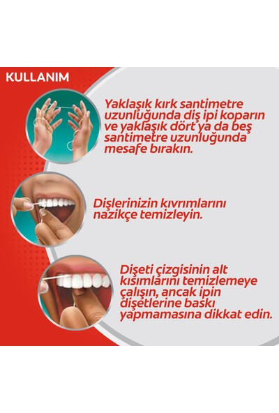 Colgate Total Pro Diş Eti Sağlığı Diş İpi 50 mt