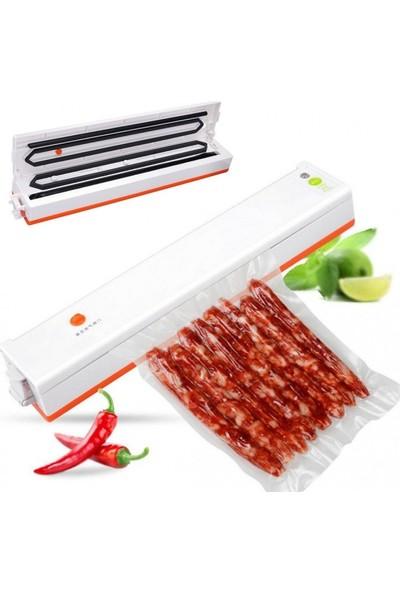 Mvln Gofrajlı Vakum Poşeti Gıda Vakum Paketleme Makinesi İçin Tırtıklı Poşet 50 Adet 25x35cm