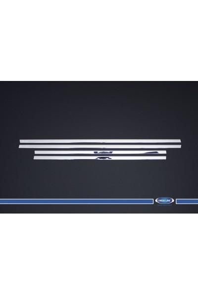 Turbo Aksesuar Nissan Qashqai Cam Çıtası 4 Parça Paslanmaz Çelik 2007-2014