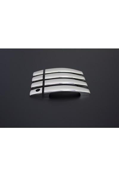 Turbo Aksesuar Opel Mokka Kapı Kolu 4 Kapı Paslanmaz Çelik 2012 Ve Sonrası