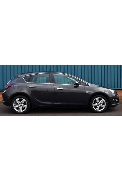 Turbo Aksesuar Opel Astra J Sd Cam Çerçevesi 12 Parça Paslanmaz Çelik 2012-
