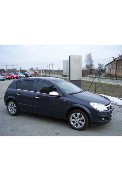 Turbo Aksesuar Opel Astra H Cam Çıtası 4 Parça Paslanmaz Çelik 2004-2009 Hb