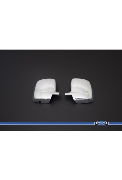 Turbo Aksesuar Peugeot Bipper Ayna Kapağı 2 Parça Paslanmaz Çelik 2008 Ve Sonrası
