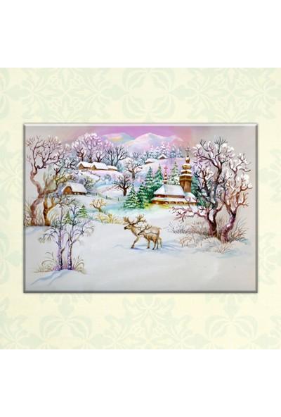 The Canvas By Cadran 70 x 100 cm Dekoratif Canvas Tablo C4C053