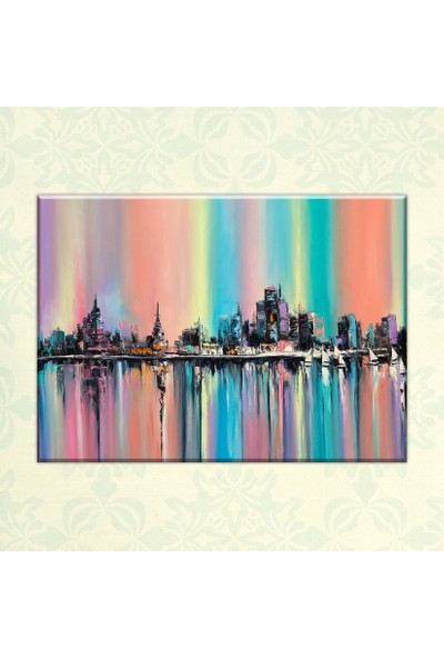 The Canvas By Cadran 70 x 100 cm Dekoratif Canvas Tablo C4C289