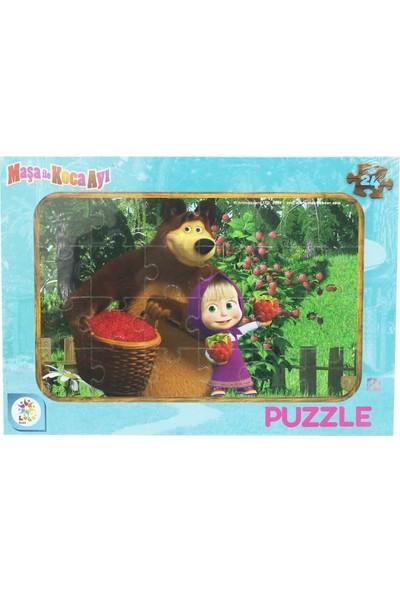 Laço Maşa Koca Ayı 24 Parça Puzzle