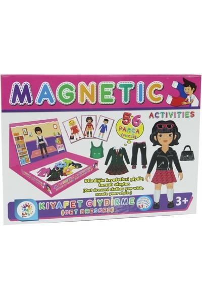 Laço Manyetik Aktiviteler Puzzle Kız Giydirme Oyunu