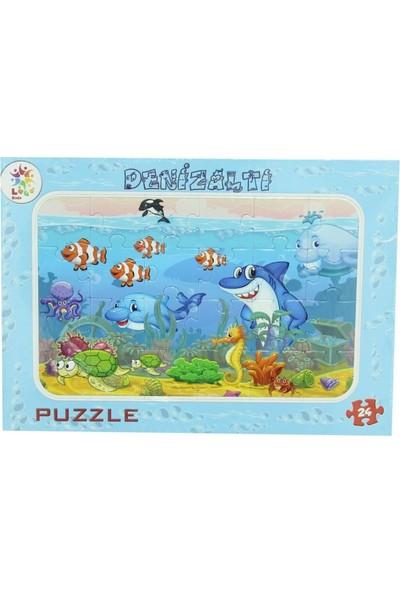 Laço Deniz Canlıları 24 Parça Puzzle