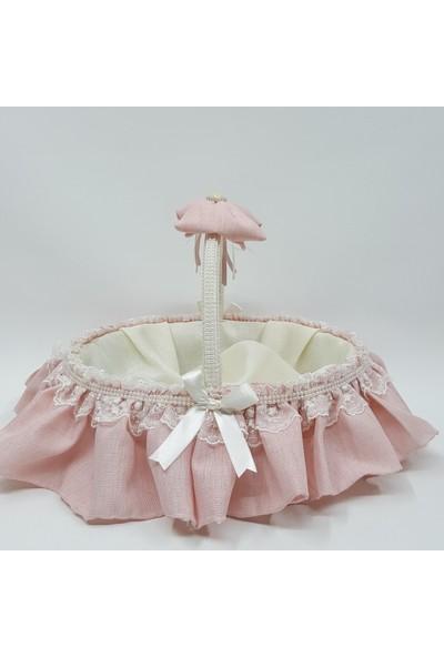 Baby Lüks Bebek Odası Bebek Şeker Sepeti - Hediye Sepeti ( Keten Serisi )