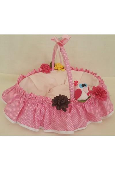 Baby Lüks Bebek Odası Bebek Şeker Sepeti - Hediye Sepeti ( Baykuş Serisi )