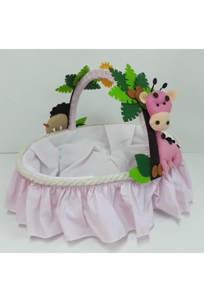 Baby Lüks Bebek Odası Şeker ve Hediye Sepeti ( Safari Serisi )